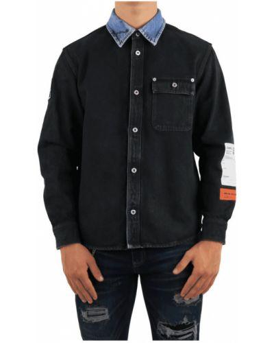Koszula jeansowa - czarna Heron Preston