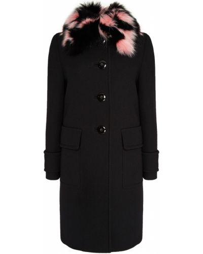 Пальто прямое свободное Miu Miu