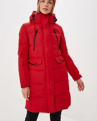 Зимняя куртка осенняя красная Snowimage