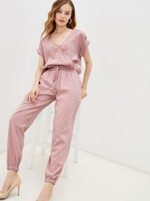 Брючный комбинезон - розовый Gloss