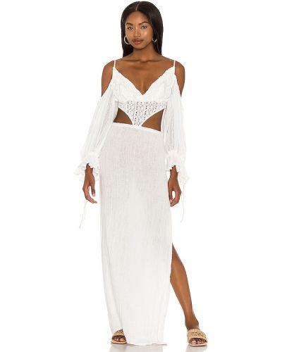 Кружевное белое платье макси бохо Jens Pirate Booty