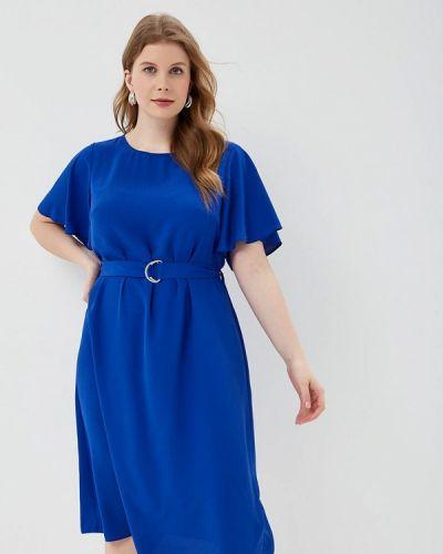 Повседневное платье весеннее синее Dorothy Perkins Curve