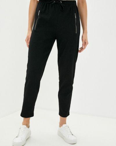Прямые черные брюки Wallis