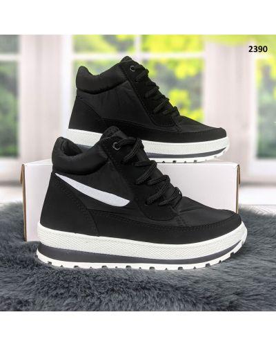 Ботинки на шнуровке - белые Bromen