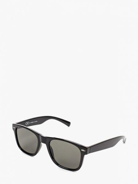 Солнцезащитные очки черные квадратные Topman