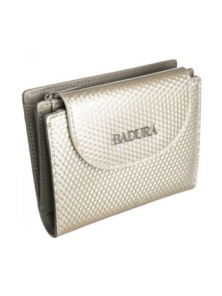 Beżowy portfel skórzany Renee