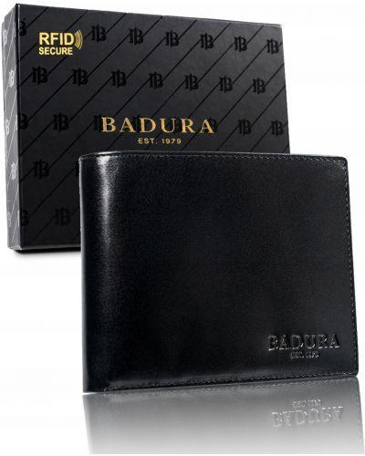 Кожаные ботинки - черные Badura