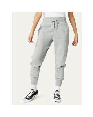 Szare spodnie bawełniane Converse