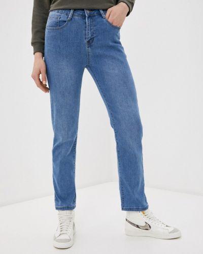 Синие прямые джинсы G&g