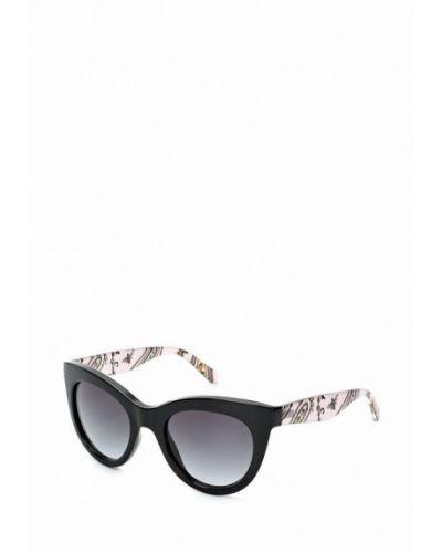 Черные солнцезащитные очки Tommy Hilfiger