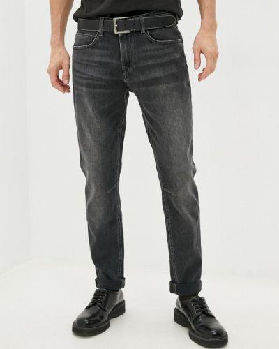 Серые зимние зауженные джинсы Mexx