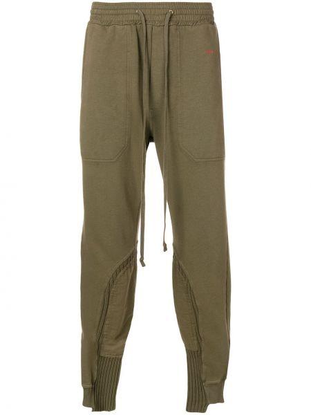 Zielone spodnie bawełniane Damir Doma