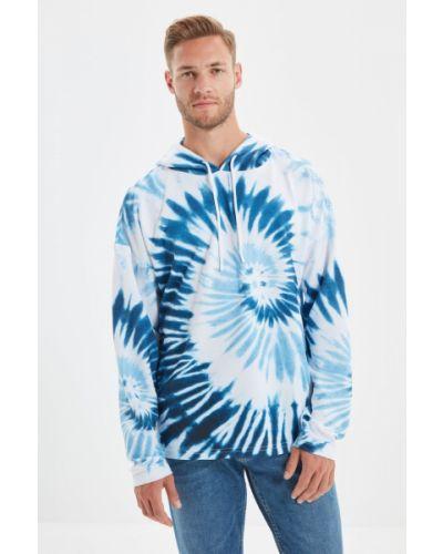 Bluza dresowa - niebieska Trendyol