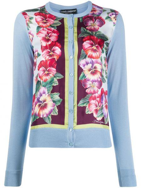 Кардиган длинный на пуговицах Dolce & Gabbana