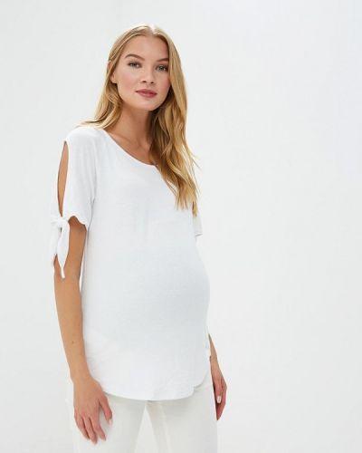 Белое поло Gap Maternity
