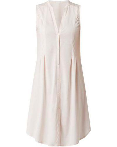 Różowa koszula nocna bawełniana bez rękawów Hanro
