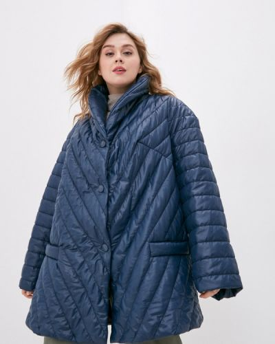 Утепленная синяя куртка авантюра Plus Size Fashion