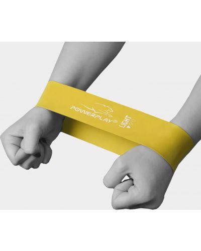 Желтая резинка для волос на резинке для фитнеса Powerplay