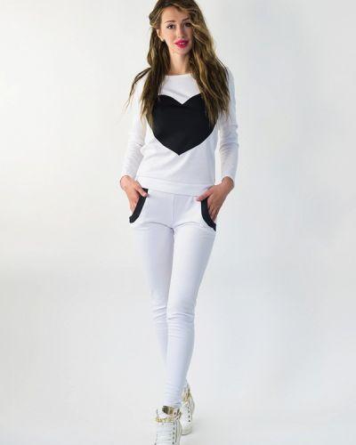 Спортивный костюм белый Подіум