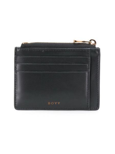 Czarny portfel Boyy