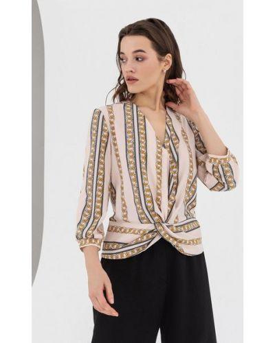 Блузка с запахом из вискозы Vovk