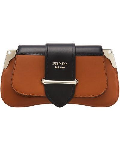 Сумка на руку кожаный маленькая Prada