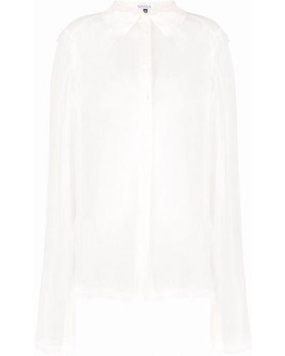 Белая длинная рубашка Krizia