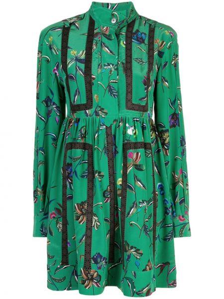 Платье с цветочным принтом платье-рубашка Derek Lam 10 Crosby