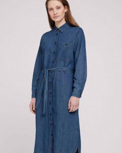 Синее джинсовое платье Tom Tailor Denim