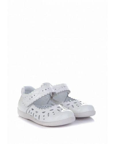 Туфли лаковые белые Miracle Me