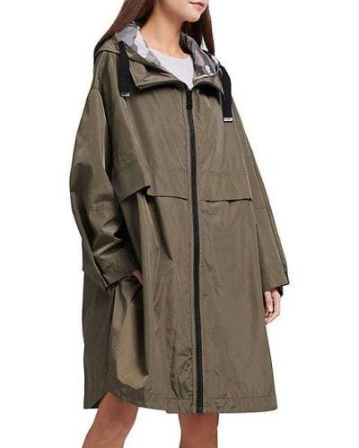 Длинная куртка с капюшоном с воротником с длинными рукавами Dkny