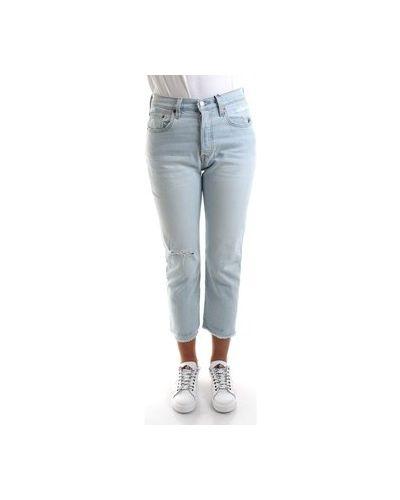 Niebieski jeansy chłopaki Levi's