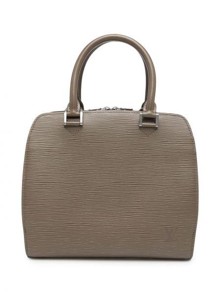 Brązowa torebka skórzana Louis Vuitton