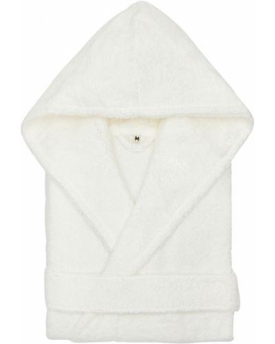 Szlafrok bawełniany - biały Tekla