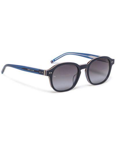 Niebieskie okulary Tommy Hilfiger