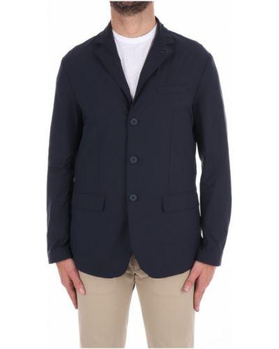 Klasyczny niebieski płaszcz materiałowy People Of Shibuya