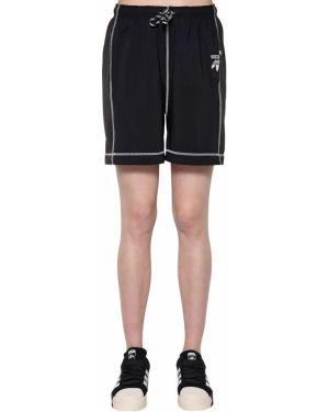 Шорты с карманами - черные Adidas Originals By Alexander Wang