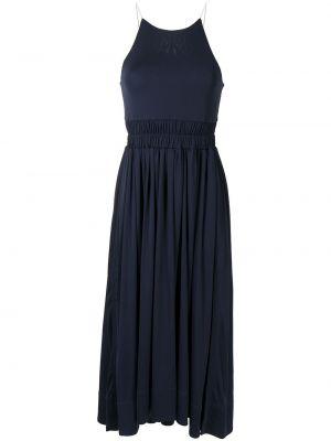 Платье макси длинное - синее 3.1 Phillip Lim