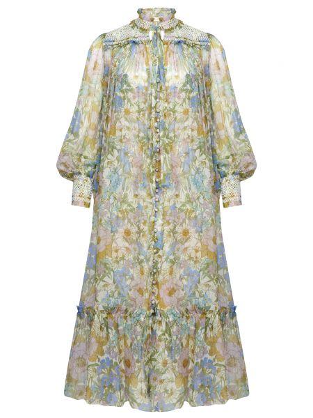 Платье на пуговицах Zimmermann