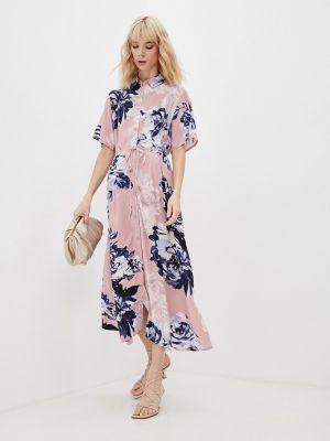 Платье рубашка - розовое French Connection