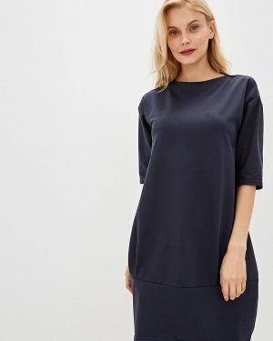 Платье осеннее синее Tenerezza