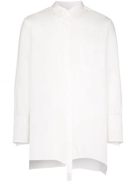 Klasyczna biała klasyczna koszula bawełniana Sulvam