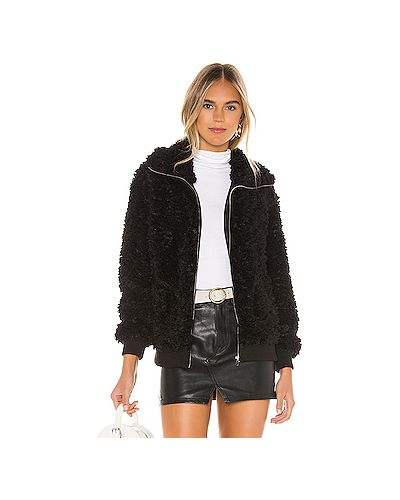 Куртка черная на молнии Bb Dakota