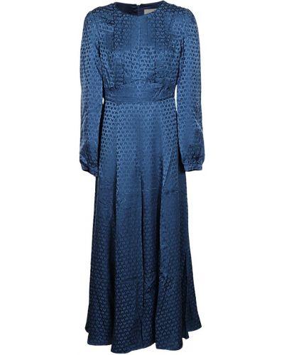 Niebieska sukienka Saloni