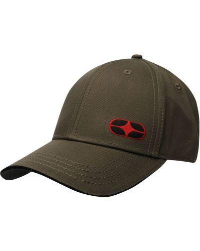 Zielona czapka z haftem No Fear