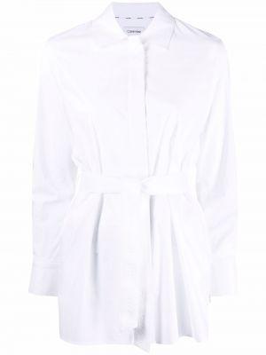 Белая рубашка на пуговицах Calvin Klein