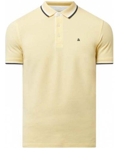 T-shirt bawełniana - żółta Jack & Jones