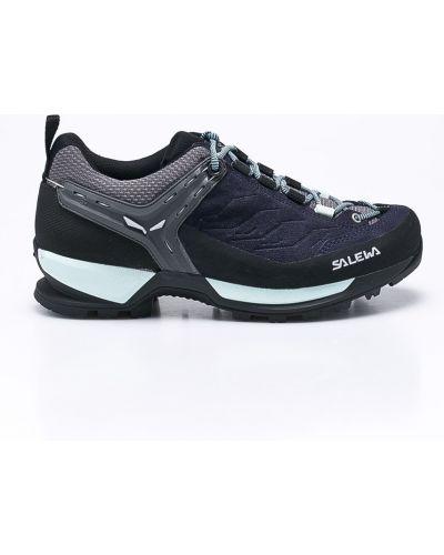 Ботинки на шнуровке трекинговые кожаные Salewa