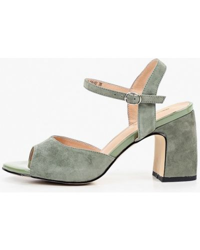 Зеленые босоножки Dino Ricci