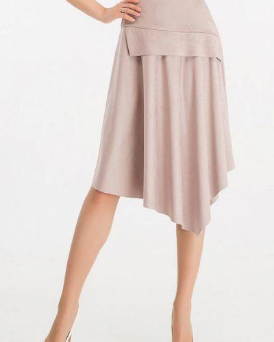 Розовая юбка свободного кроя Giulia Rossi